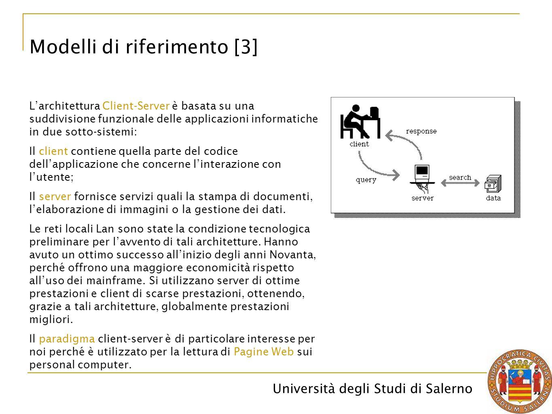 Modelli di riferimento [3]